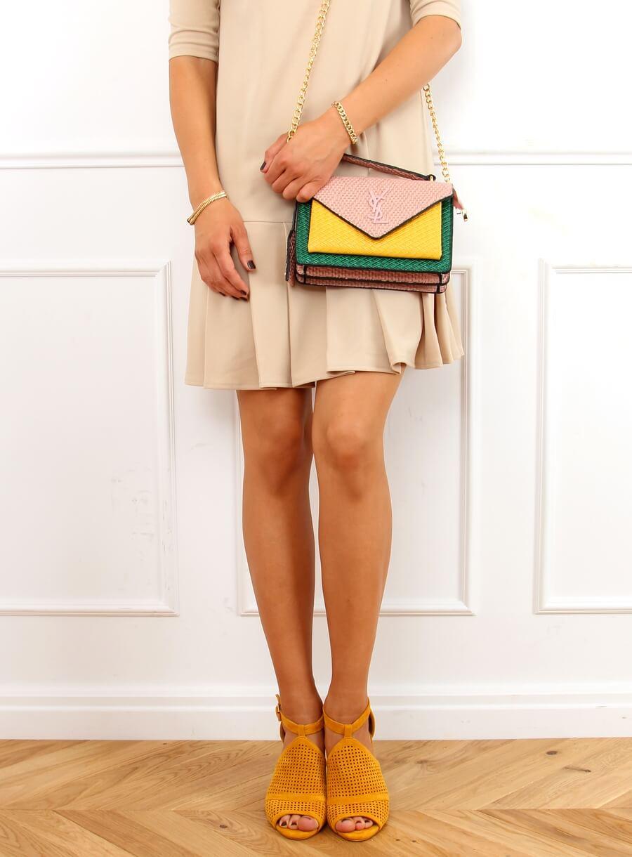 Žlté sandále