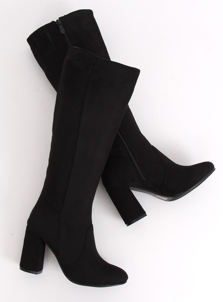 Čierne čižmy vysoké
