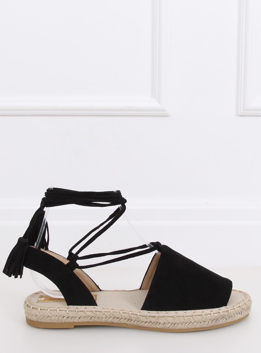 Espedryli/ sandále čierne