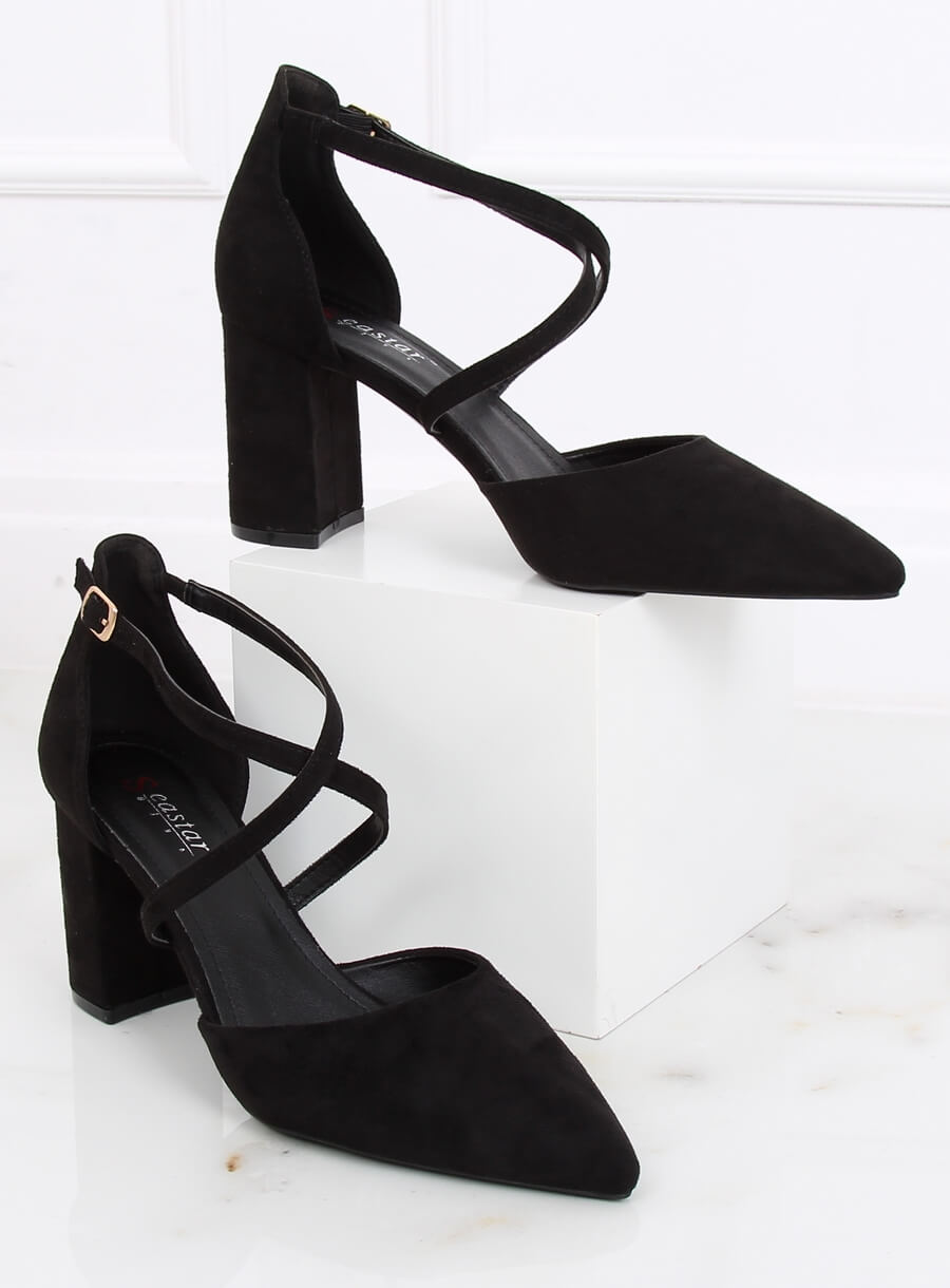 Topánky čierne