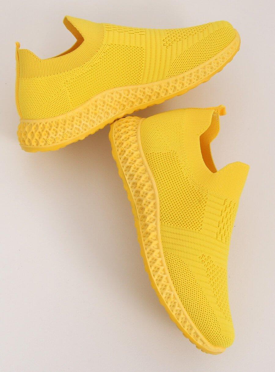 Žltá športová obuv
