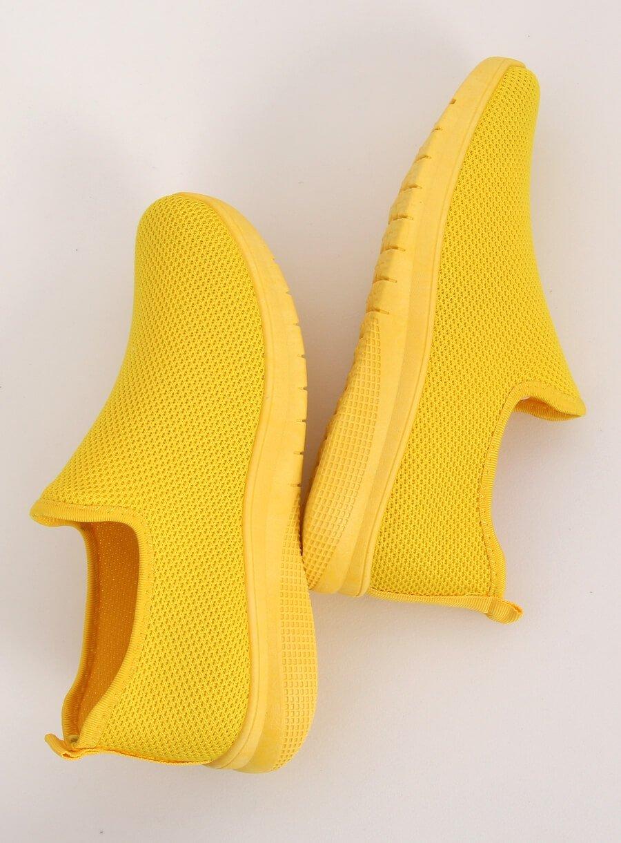 Športová obuv žltá