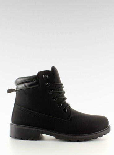 Timberki mono-colour czarne BL83 Black