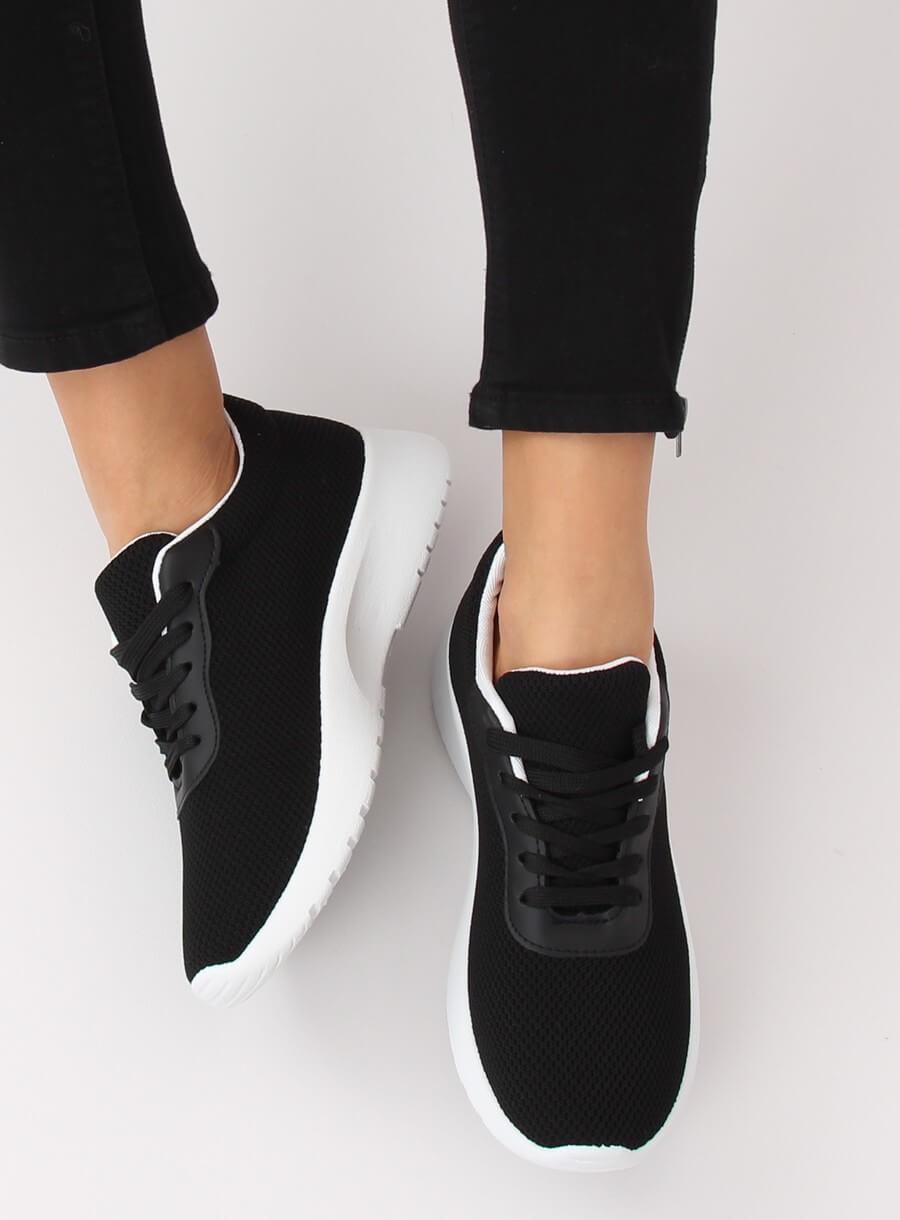 Buty sportowe czarne BK 116 BLACK   Sklep