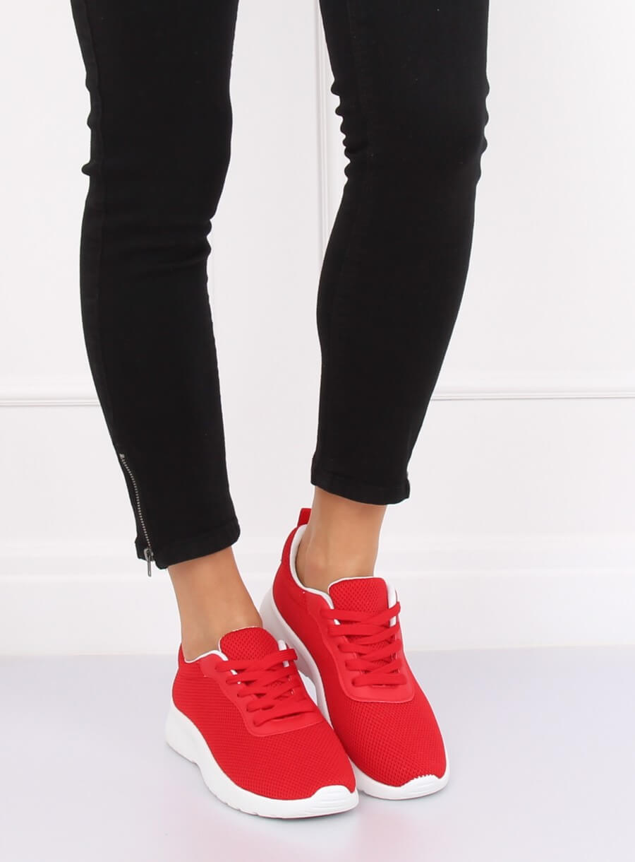 Buty sportowe czerwone BK 116 RED   Sklep