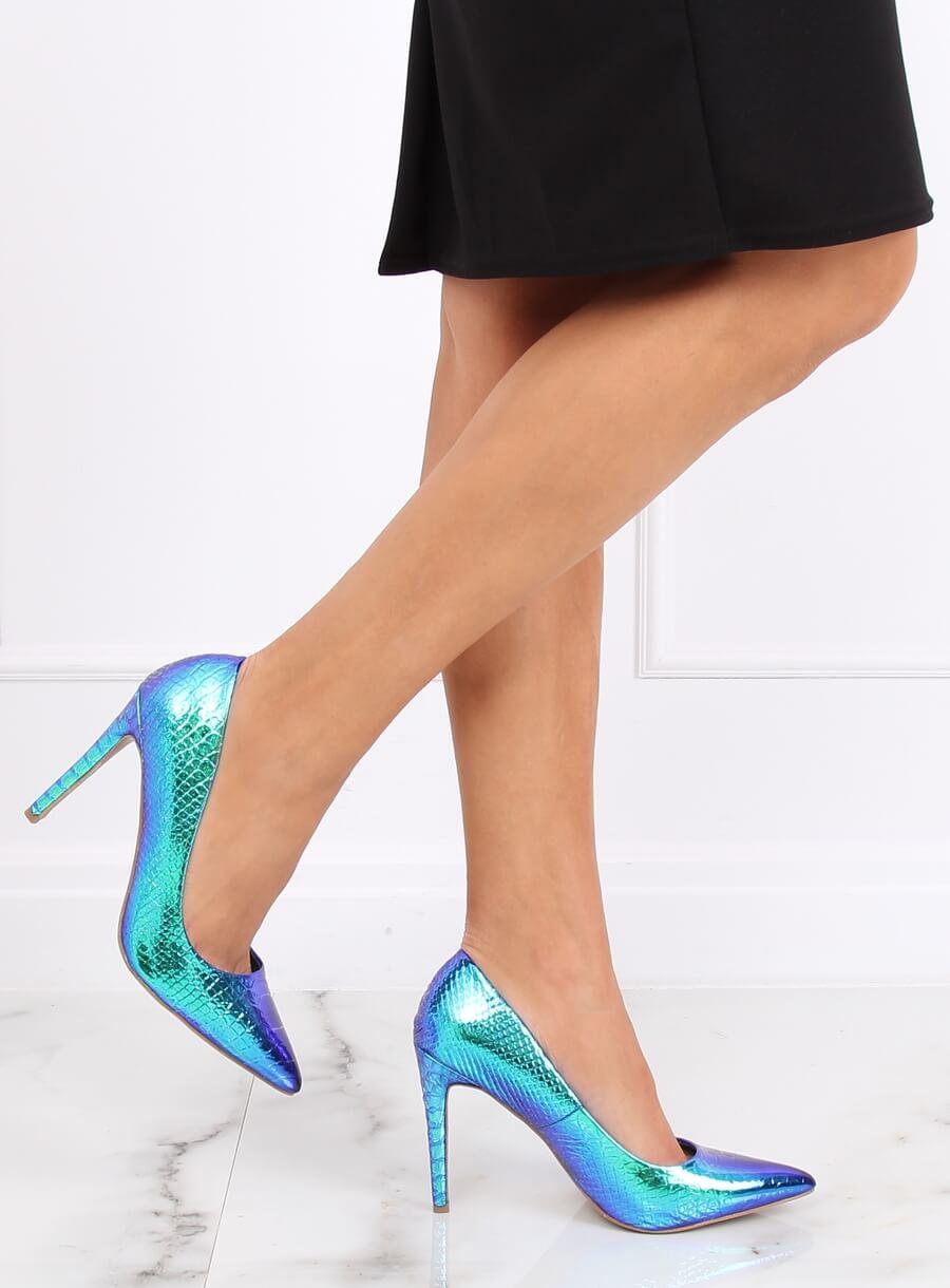 złapać szukać gorący produkt holograficzne buty na obcasie