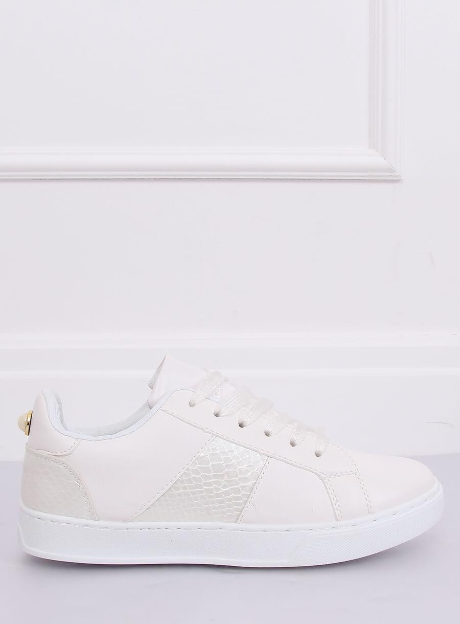 Trampki damskie białe X93 WHITE | Sklep