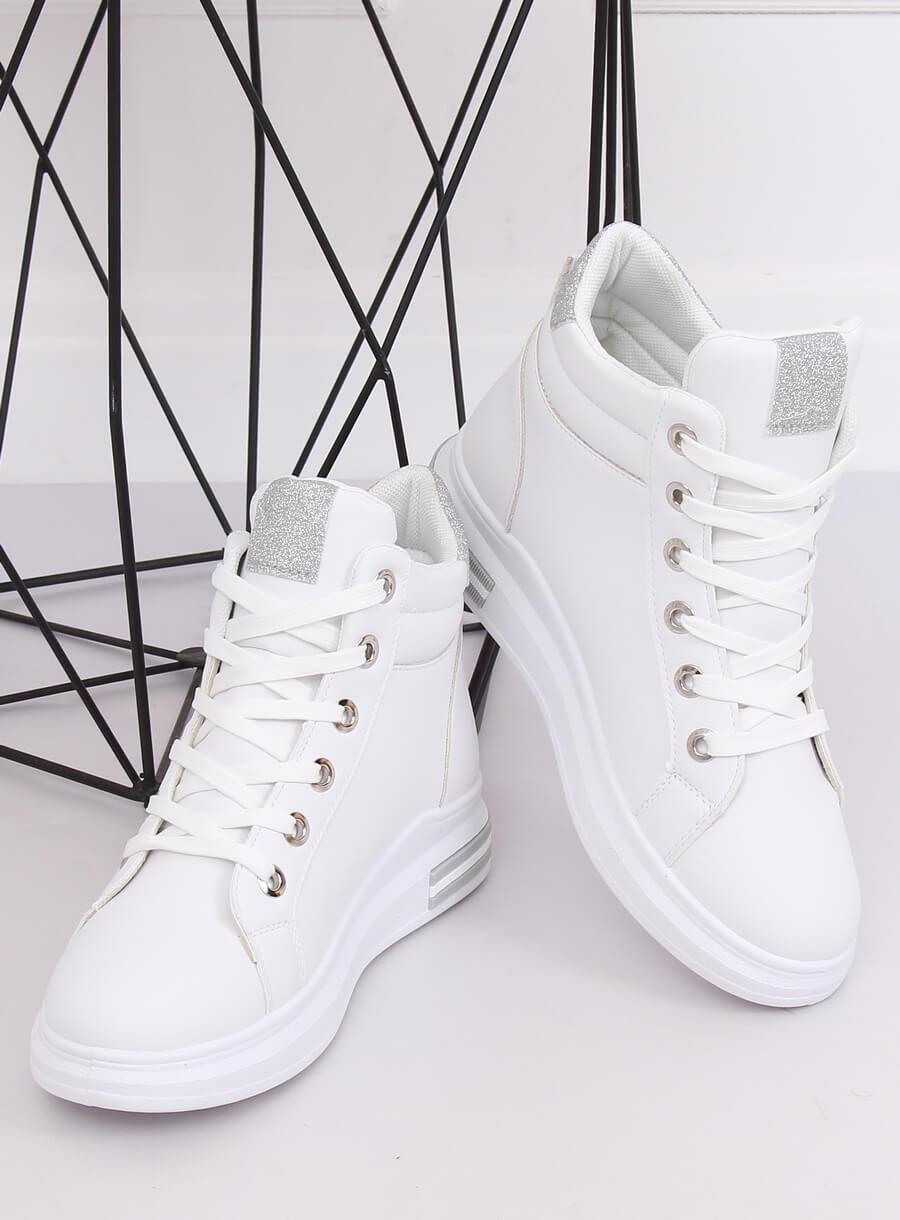 buty sznurowane za kostkę damskie sneakersy